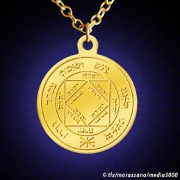 Médaille de Salomon Soleil N°1, dorée