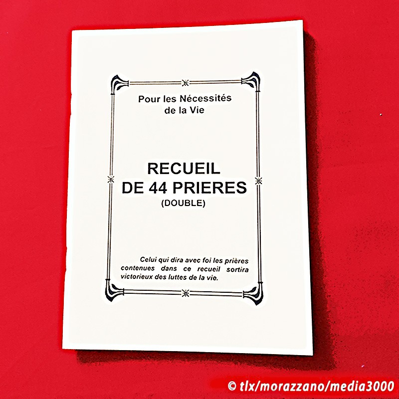 RECUEIL DE 44 PRIERES (double)