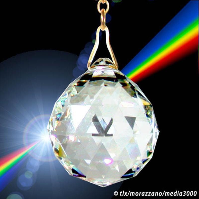 PENDULE DES ARKONAUTES,  grand rond en cristal 30mm