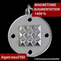 OSCILLATEUR QUANTIQUE MORAZZANO     Argent Massif 950