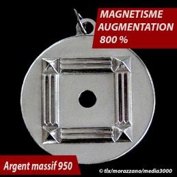 OSCILLATEUR QUANTIQUE KHEOPS,   Argent Massif 950