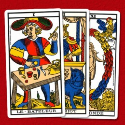 Mini Tarot de Marseille divinatoire