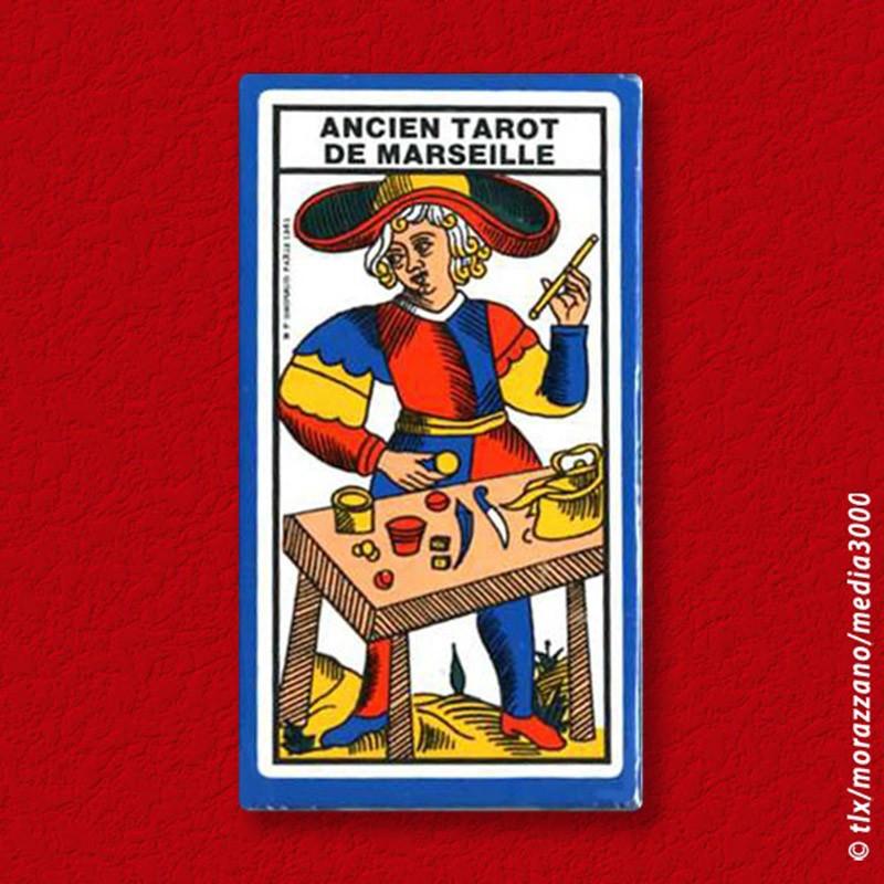 Mini Tarot de Marseille.